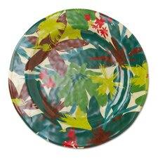 "Tropical 11"" Melamine Dinner Plate"