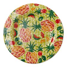 "Tropical 9"" Melamine Salad Plate"