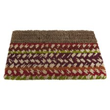 Market Stripe Boot Scrape Doormat