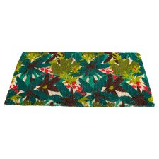 Tropical Floral Estate Doormat