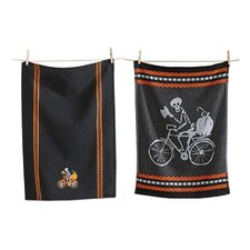 2 Piece Halloween Dishtowel Set