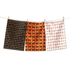 3 Piece Halloween Dishtowel Set