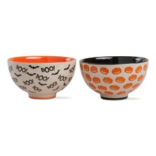 Happy Halloween 2 Piece Bowl Set