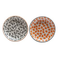 "6.25"" Happy Halloween Plate 2 Piece Set"