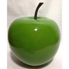 Stone Fruit Green Apple Statue
