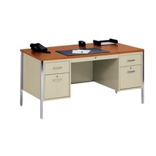 """500 Series 29.5"""" Double Pedestal Desk"""