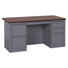 """900 Series 29.5"""" Double Pedestal Desk"""
