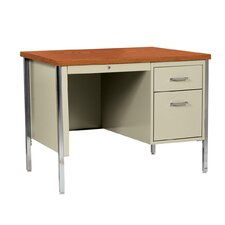 "500 Series 29.5"" Single Pedestal Desk"