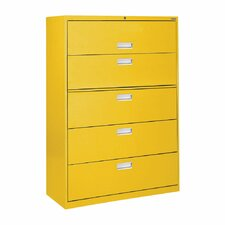 600 Series 5-Drawer  File Cabinet