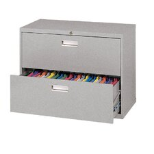 600 Series 2-Drawer  File Cabinet