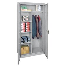 """Classic Series 78""""H x 36""""W x 18""""D 2 Door Storage Cabinet"""