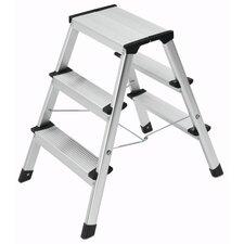 L 90 0.68m Aluminium Step Ladder with Class EN131 (Professional) 159kg