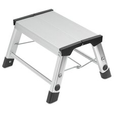 Step-Ke 2-step Aluminum Step Stool with Class EN131 (Professional) 159 kg