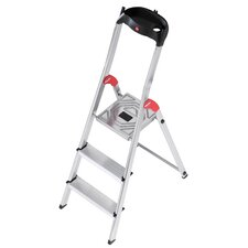 EasyClix 4-Step Aluminium Step Stool with Class EN131 (Professional) 159kg
