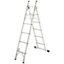 L80 Aluminium 3-Way Household Ladder