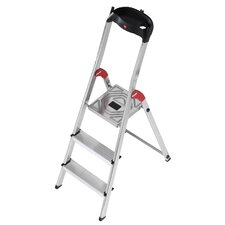 3-step Aluminum Step Stool with Class EN131 (Professional) 159 kg