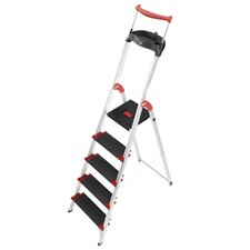 XXR 225 ChampionsLine 2.81m Aluminum Step ladder with Class I (Industrial) 175 kg