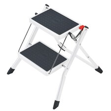 Mini 2-step Plastic Step Stool with Class EN131 (Professional) 159 kg