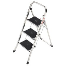 3-Step Aluminium Step Stool with Class EN131 (Professional) 159kg