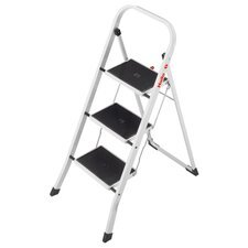 3-step Steel Step Stool with Class EN131 (Professional) 159 kg