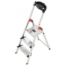 XXL 3-Step Aluminium Step Stool with Class EN131 (Professional) 159kg