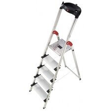 XXL 5-step Aluminum Step Stool with Class EN131 (Professional) 159 kg