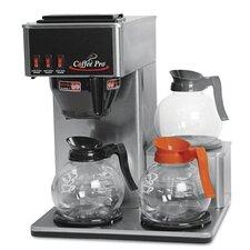 Coffee Pro Three-Burner Low Profile Institutional Coffee Maker