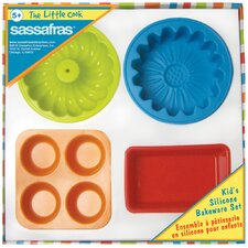 The Little Cook 4 Piece Cake Pan Set
