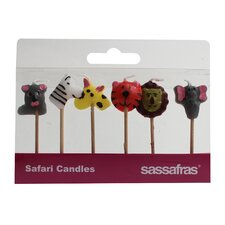 Safari Party Candle (Set of 2)