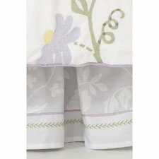Bird of Paradise 240 Thread Count Bed Skirt