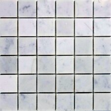 "2"" x 2"" Marble Mosaic Tile in Italian Venatino"
