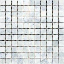 "1"" x 1"" Marble Mosaic Tile in Italian Venatino"
