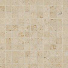 """Jura 1"""" x 1"""" Limestone Mosaic Tile in Beige"""