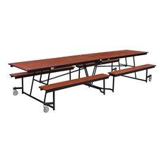 "145"" x 56"" Rectangular Cafeteria Table"
