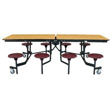 "97"" x 59"" Rectangular Cafeteria Table"