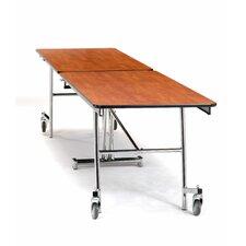 "145"" x 30"" Rectangular Cafeteria Table"