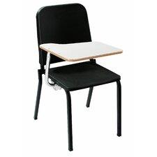 Wood 33.5'' Tablet Arm Desk