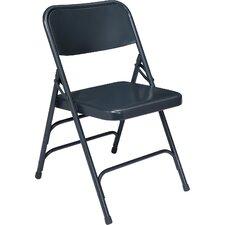 300 Series Triple Brace Steel Folding Chair (Set of 4)