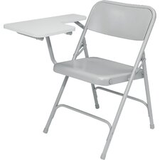 5200 Series Steel Folding Chair with Tablet Arm (Set of 2)