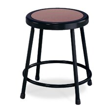 Stool with Round Hardboard Seat