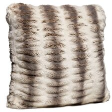 Couture Faux fur Throw Pillow
