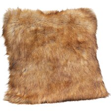 Limited Edition Series Faux fur Throw Pillow