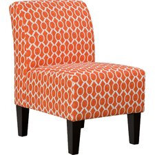 Side Chair in Orange