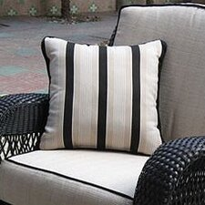Ebony & Ivory Outdoor Throw Pillow