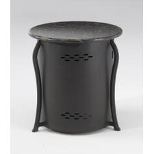 LP Tank Cover Side Table with Granite Top