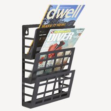 Grid Magazine Rack