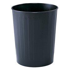 5.88 Gallon Round Wastebasket (Set of 6)