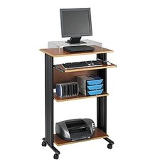 MUV Fixed Stand-Up Workstation AV Cart