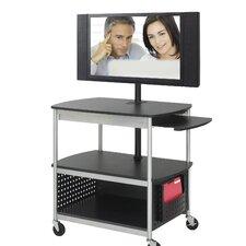 Scoot Flat Panel Multimedia AV Cart