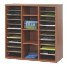 """Apres Modular Storage Literature Organizer 29.75"""" Standard Bookcase"""